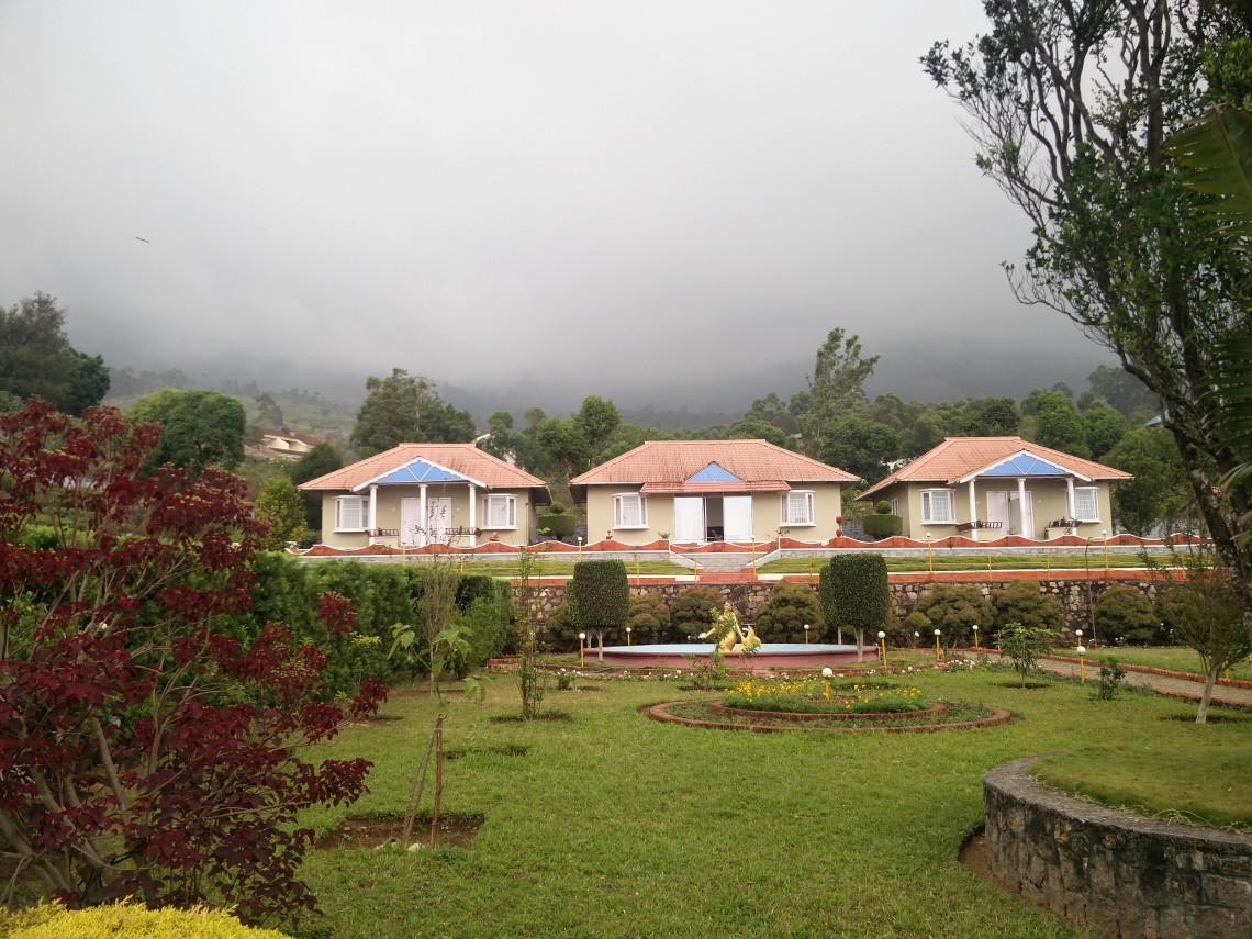 The Holiday Inn Resort in Munnar.